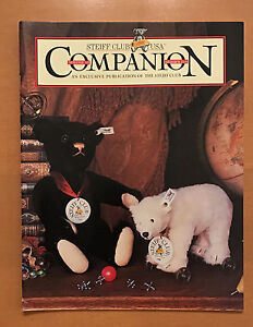 STEIFF CLUB COMPANION MAGAZINE VOL 6 #3/ 1999 ANIMALS ON WHEELS