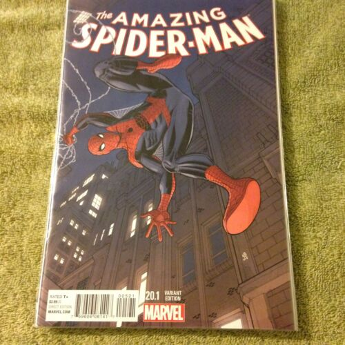 the AMAZING SPIDER-MAN 20.1  variant cover Spiderman Marvel comic Book