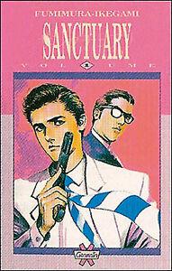 SANCTUARY 1/3 - GRANATA PRESS 1994 - SERIE COMPLETA - RARA!