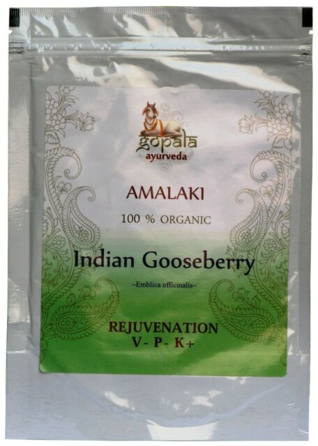 AMALAKI Powder (USDA CERTIFIED ORGANIC) - 250g - Embilica officinalis