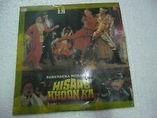 HISAAB KHOON KA NADEEM SHRAVAN 1988  RARE LP RECORD OST orig BOLLYWOOD VINYL VG+
