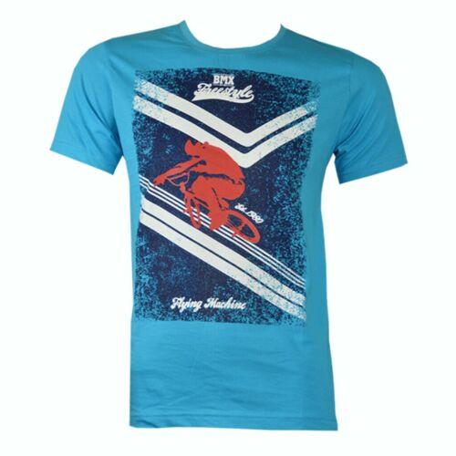 Men/'s Summer Linge en Coton Organique T-Shirt RRP £ 45.00