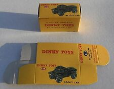 High Quality Reproduction Dinky Military Boxes - 673 Scout Car