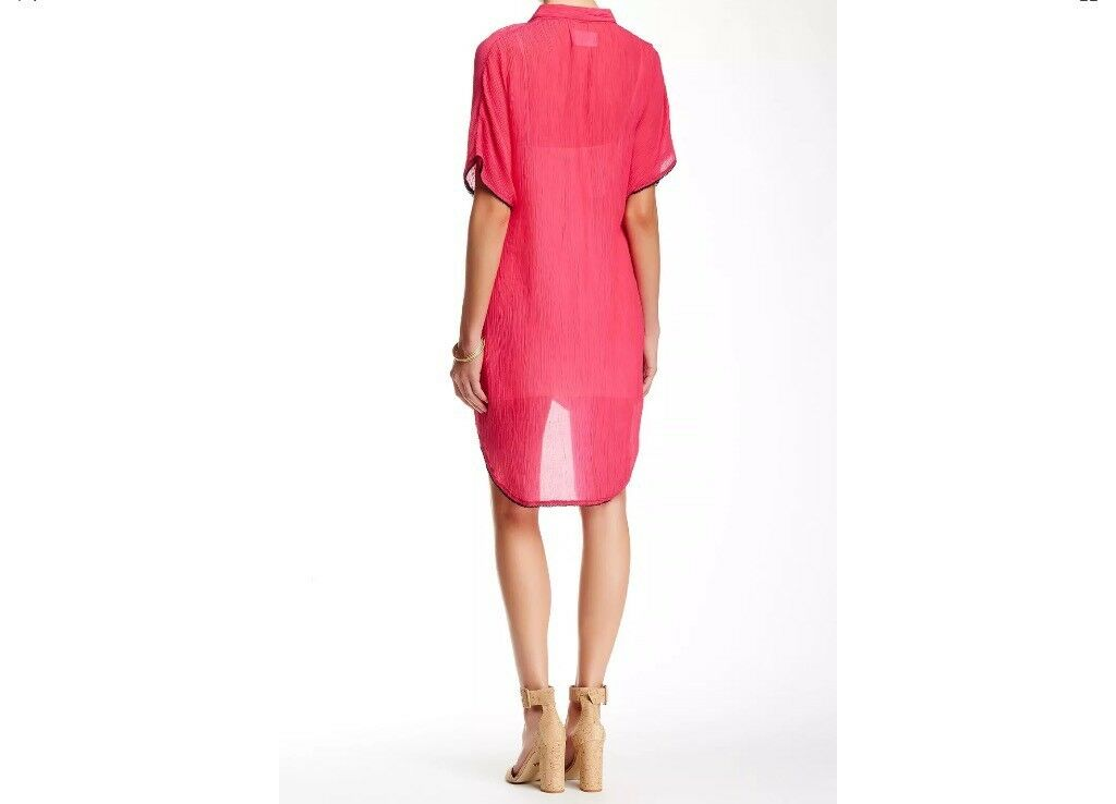 BNWT 100% Auth Zadig and Voltaire Regale Crepon    Tunic Dress. S RRP 195.00 b30a81