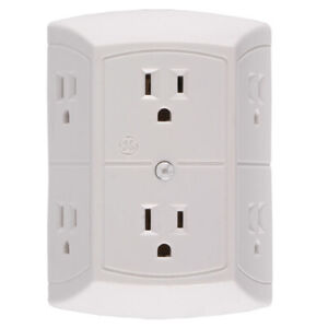Spy Max Security 6 Power Outlet Hd Hidden Camera W Motion