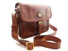THE BRIDGE *current* leather satchel messenger shoulder crossbody bag 044149