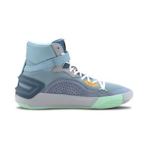 Puma Men's Sky Modern Easter Milky Blue/Corsair Basketball Shoes 19404301 NEW!