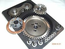 Dual Idler Gear Drive Set Small Block Chevy Noisy 327 350 383 400 350N