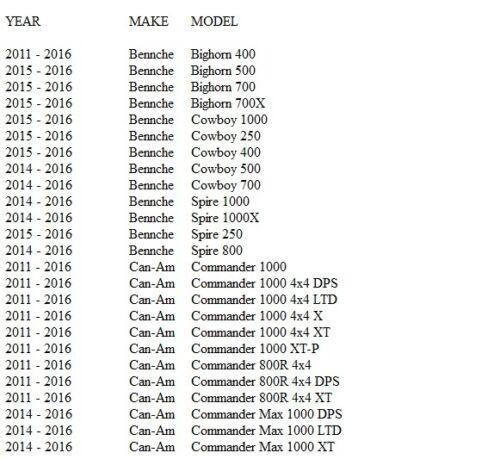 SBS 611SI FRONT SINTERED BRAKE PADS YAMAHA YFZ//YXR//Rhino,Massimo,Kawasaki KLX+++