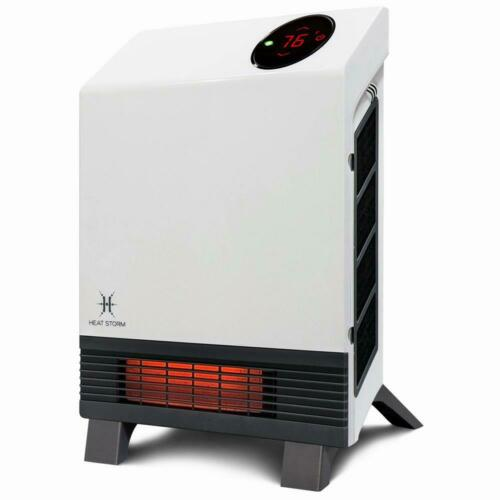 Heat Storm Wave Floor to Wall Unit 1,000-Watt Infrared Quartz Portable Heater