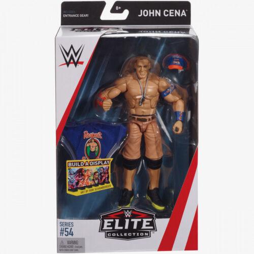 WWE John Cena Gorra T-Shirt WWF NXT MATTEL Serie 54 Elite lucha libre figura de acción