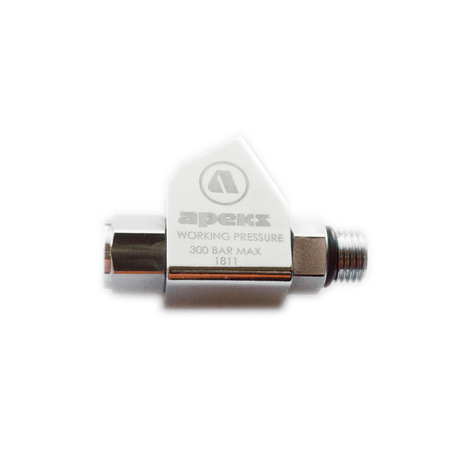 Apeks Twin Adapter Hochdruck-Doppelanschluss zur 1. Stufe Atemregler