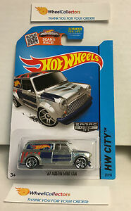 039-67-Austin-Mini-Van-27-ZAMAC-Walmart-Hot-Wheels-2015-USA-Card-Y30