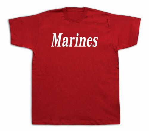 Mens Tee shirts T-shirt print Marines US Army Infantry Special Cores Sniper