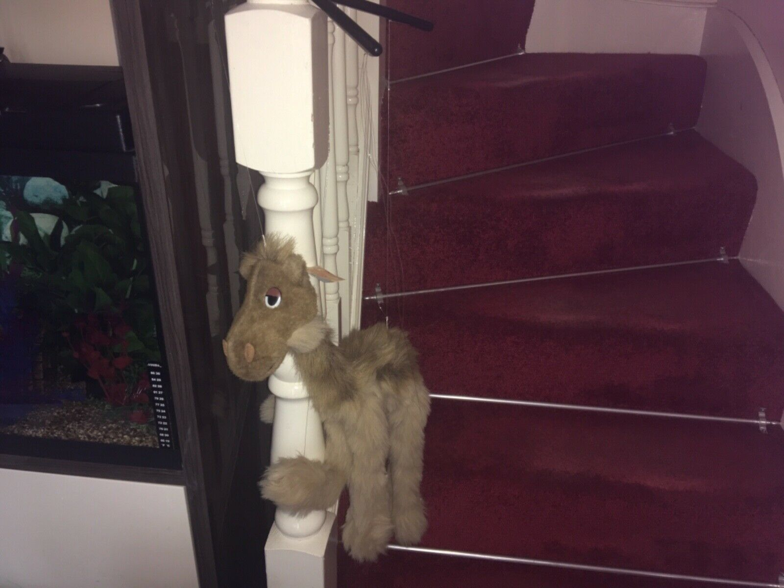 CAMEL O SHY MARIONETTE CAMEL PUPPET SOFT TOY PLUSH WITH TAGS FANTASTIC CONDITION