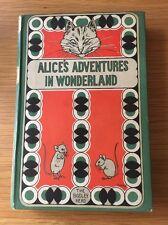 Lewis Carroll: Alice's Adventures in Wonderland illustrations: W H Walker Rare!