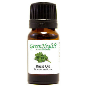 15-ml-Basil-Essential-Oil-100-Pure-amp-Natural-GreenHealth