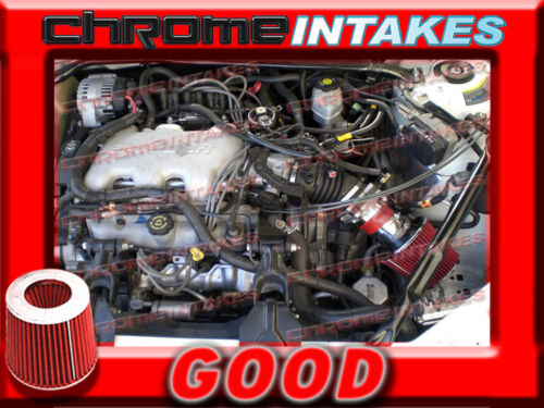 RED 99 00 01 02 03 04 05 1999 2000-2005 BUICK CENTURY 3.1 3.1L V6 AIR INTAKE