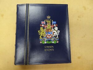 Lighthouse Vista Canada Coin Album 50 Cents 1870-2014 Free matching slipcase