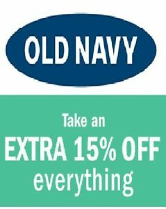 Old-Navy-15-Coupon-Code-COMBINABLE-with-ON-LINE-Discount-IMMEDIATE-DELIVERY