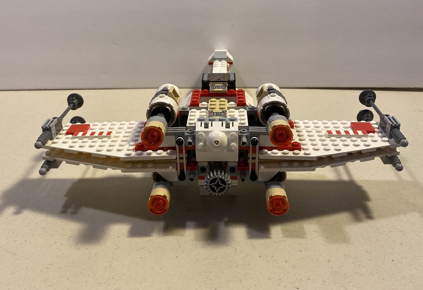 Lego 6212 Stern Wars X Wing Fighter Complete Ship ONLY 2006