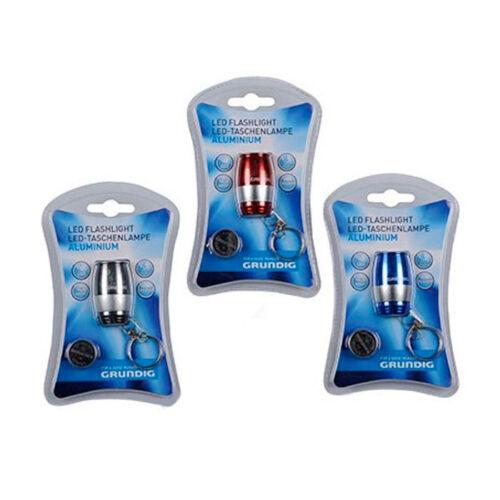 Torcia In Alluminio a 6 LED Tascabile Resistente All/'acqua 25 Lumens Grundig