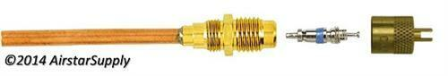 "1//4/"" M Access Fitting with 3//16/"" Copper Tube • C/&D Valve CD3603 • Sold Each"