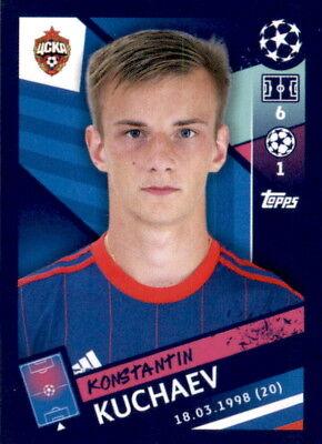 Bescheiden Topps Champions League 18/19 - Sticker 397 - Konstantin Kuchayev GläNzende OberfläChe