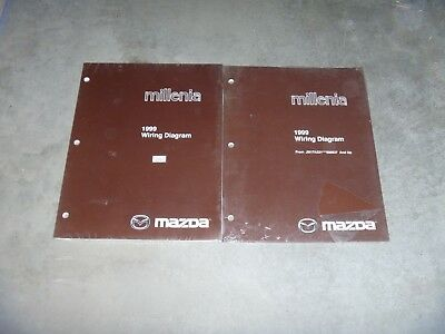 1999 Mazda Millenia Electrical Wiring Diagram Manual NEW ...