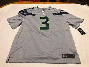Nike NFL Seattle Seahawks Russell Wilson  3 Jersey 479431 062 SZ 2XL ... e404b5ad5