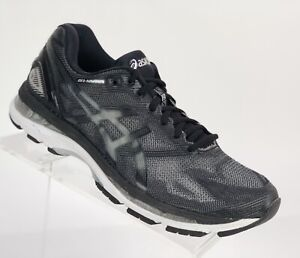 best service f772c 083ca Details about New! Asics Men's Gel-Nimbus 19 Running Shoes Size 8 Black  Silver