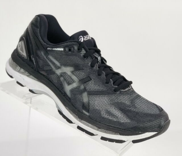 sports shoes 6f231 b4543 New! Asics Men's Gel-Nimbus 19 Running Shoes Size 8 Black Silver