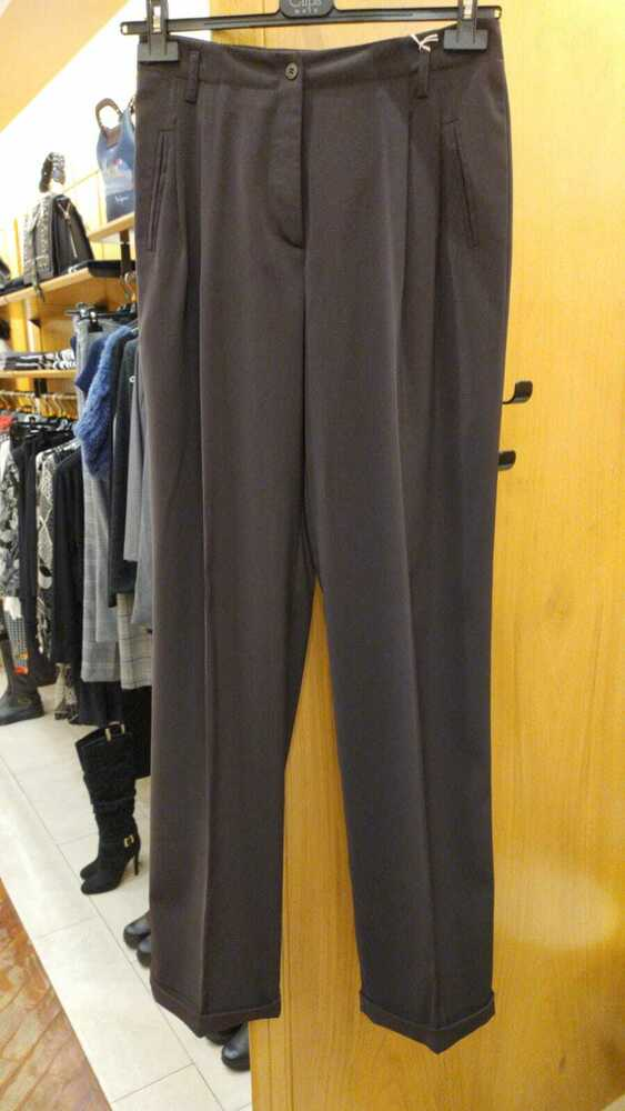 Pantalone 105 € - 70% Nuvola Donna 4409 218 Marrone Mis.46 Aa Made In Italy