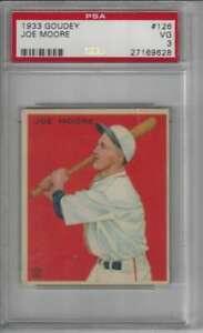 1933-Goudey-126-Jo-Jo-Moore-PSA-3-Rookie-Card-NY-Giants-PRESENTS-BETTER
