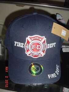 FIRE-DEPARTMENT-Baseball-style-hat-by-RAPID-DOMINANCE