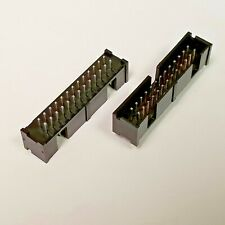 Te Connectivity Amp 5103308 6 Connector Header 26 Position Gold 2 Pieces