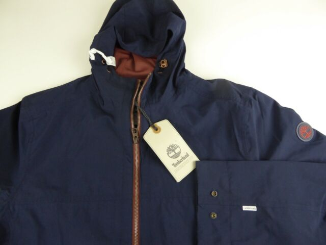 Timberland DryVent Waterproof Hooded Jacket Mesh Lining Compatible Layering Sys.