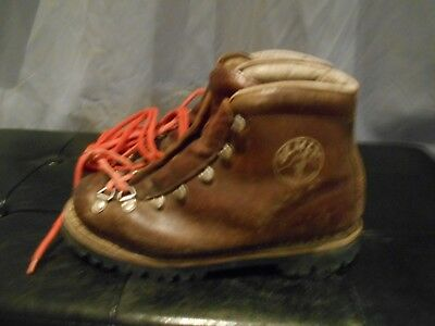 Gentile Rares Chaussures Marche Varappe Semly Marron T 38 Tbe A 49€ Ach Imm Fp Red Mond