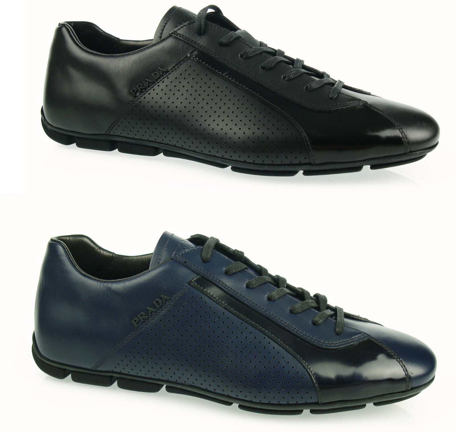 PRADA sneakers driver lace  MEN'S SHOES herrenshuhe Cs16 100%AUT