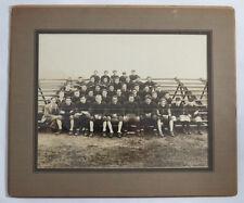 Original VTG Photograph of High School Football Team Portrait In Uniforms c1930s