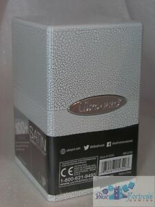 ULTRA-PRO-Ivory-Crackle-SATIN-TOWER-DECK-BOX-COMPARTMENT-FOR-DICE-CARDS