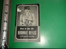 JD661 Vintage 1941 Camera Guide How to Use the Brownie Reflex
