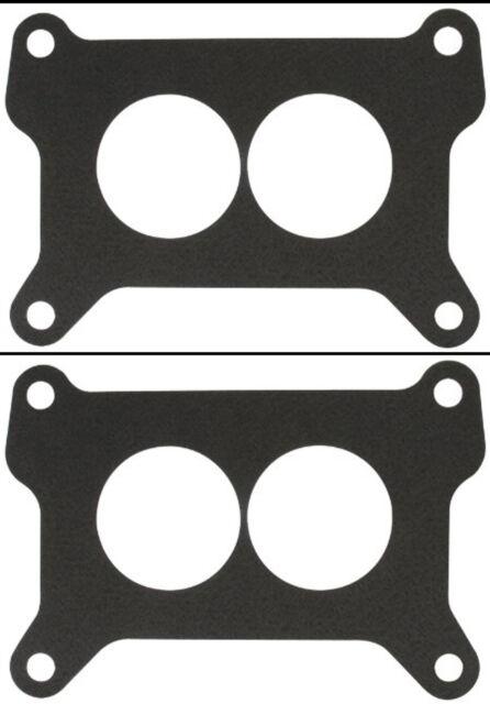 2 Barrel Carburetor Base Plate Gaskets Holley 4412 500 Flange Fiber 50 PACK