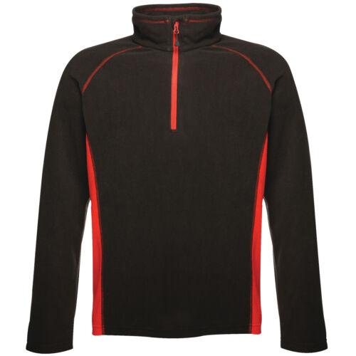 Regatta Ashmore Da Uomo Mezza Zip Fleece Top inverno caldo maglione pullover