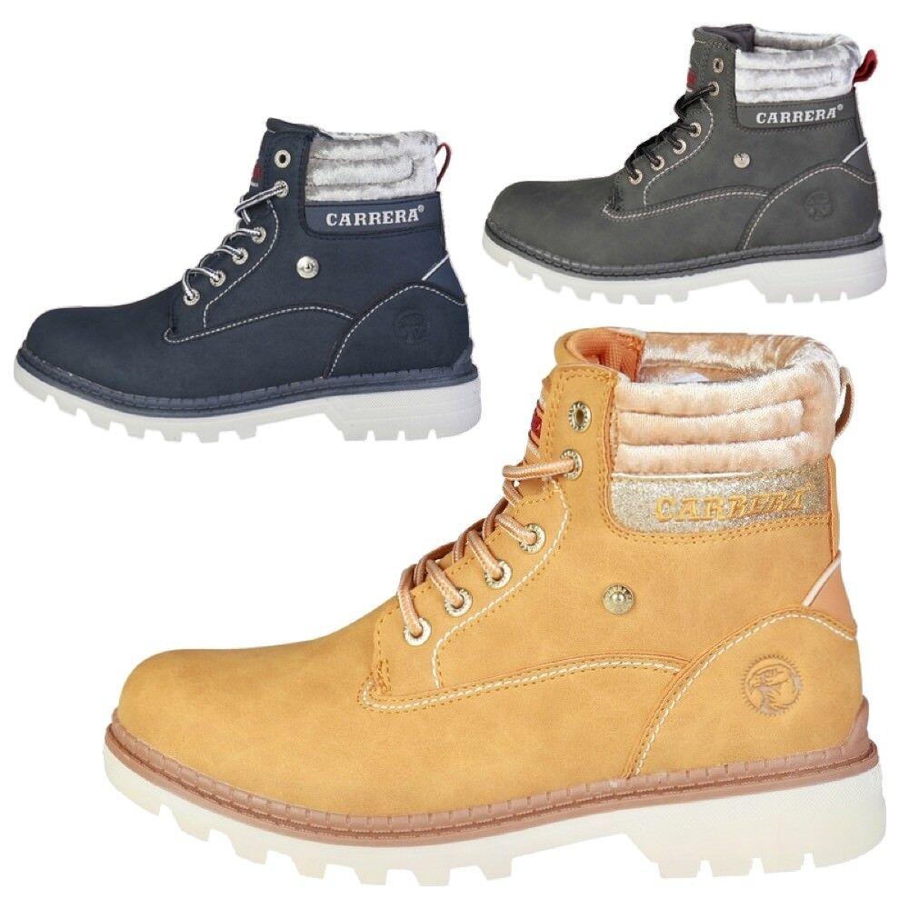 CARRERA JEANS Stivaletti scarpe Donna imbottiti anfibi boots casual bassi scarpe Stivaletti new DD 34adcc