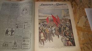 DOMENICA-DEL-CORRIERE-5-1914-MANIFESTAZIONE-PIETROBURGO-SPORT-INVERNALI