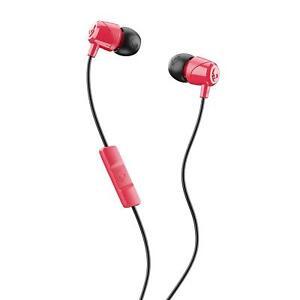 Skullcandy-S2DUY-L676-Red-Black-Jib-Earbud-In-Ear-Headphones-Original-Brand-New