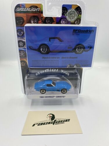 1:64 GreenLight 1969 Chevrolet Corvette hobby Exclusive by Raceface-modelcars