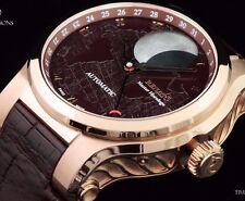 Renato Master Horologe Martin Braun Modified Patented Moonphase Rose Brown Watch