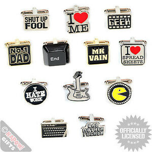 Funky-Retro-Novelty-Cufflinks-Weddings-Parties-Great-Cool-Gift-for-Him